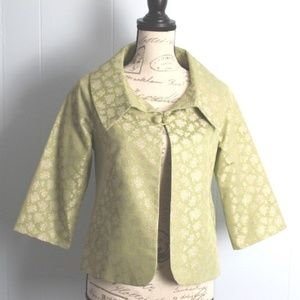 Elevenses Swing Jacket Gala Ball Pea Green Size 4